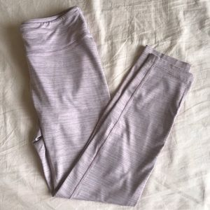 Small Purple Outdoor Voices TechSweat leggings